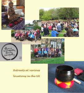 retreats in Dorset, Derbyshire and Nottingham
